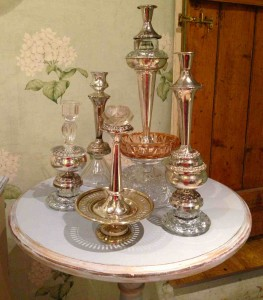 Unique upcycled candlesticks