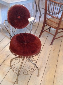 Vintage boudoir chair perfect for french style bedrooms